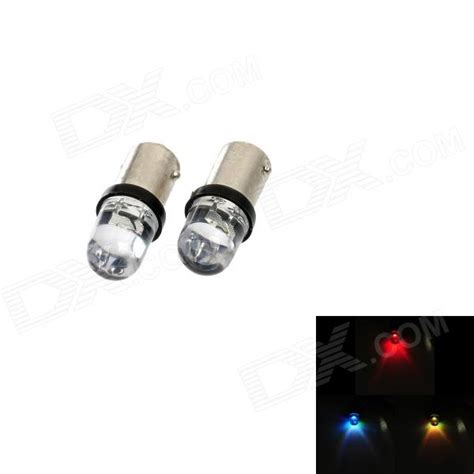 motorcycle ba9s 0 15w 5lm rgb led indicator lights 12v