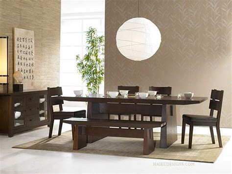 New Asian Dining Room Furniture Design