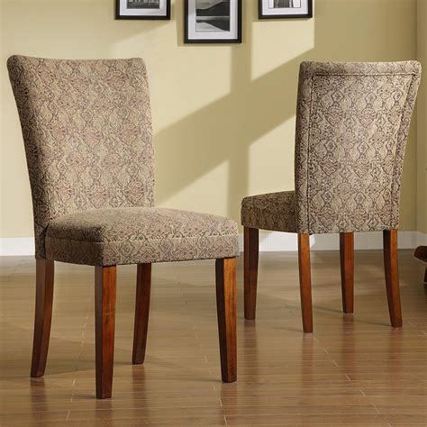 Furniture Contemporary Parson Dining Chairs For Dining