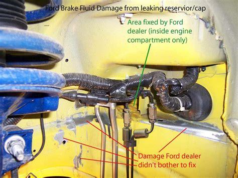 Brake Fluid Leak Damage?