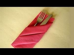 Servietten Rose Falten : servietten falten bestecktasche tischdeko weihnachten weihnachtsdeko youtube spargel ~ Eleganceandgraceweddings.com Haus und Dekorationen