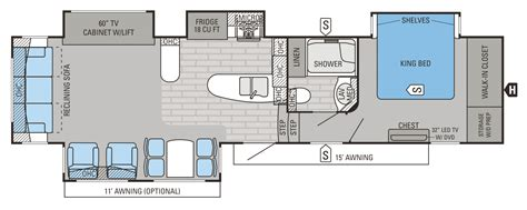 2015 Jayco 5th Wheel Floor Plans by 2015 Fifth Wheels Floorplans Prices Jayco Inc