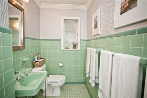 green bathroom tile ideas 36 retro green bathroom tile ideas and pictures