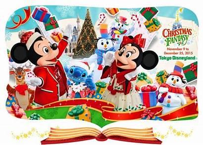 Disney Tokyo Navidad Disneyland Imagenes Diciembre Noviembre