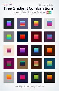 20, Awesome, Free, Gradient, Color, Combinations, For, Web, Based, Logo, Designs