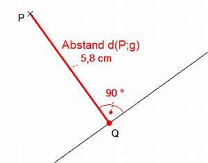 Abstand Punkt Gerade Berechnen : abstand und entfernung ~ Themetempest.com Abrechnung