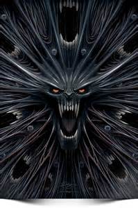Evil Monster Drawings Face