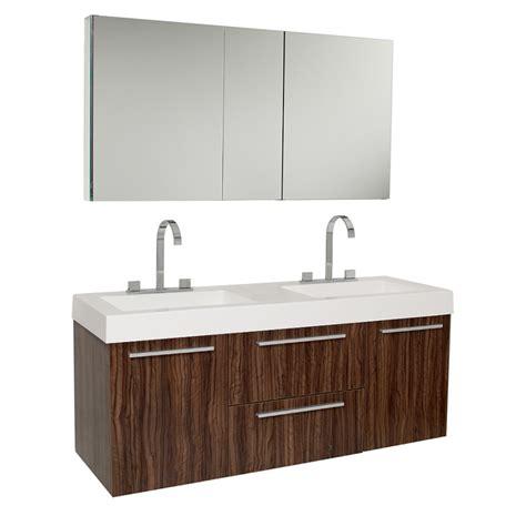 72 floating vanity 54 25 inch walnut modern sink bathroom vanity with