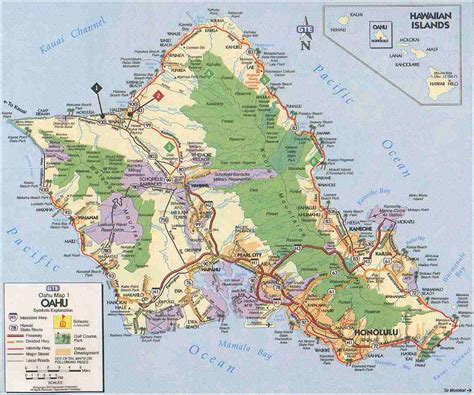 oahu maps compressportnederland