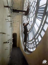 Inside Big Ben Clock Face