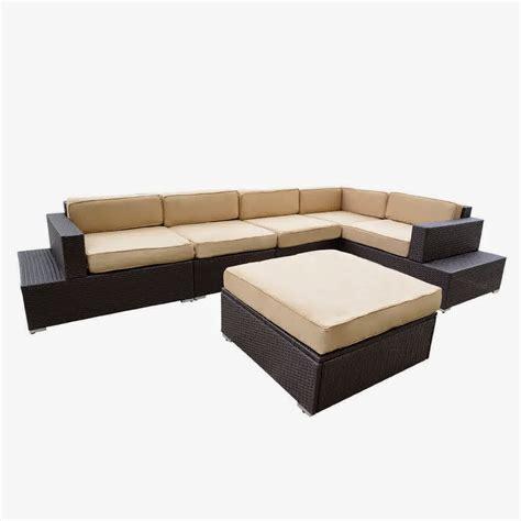 outdoor wicker sectional sofa set patio loveseats sale style pixelmari com