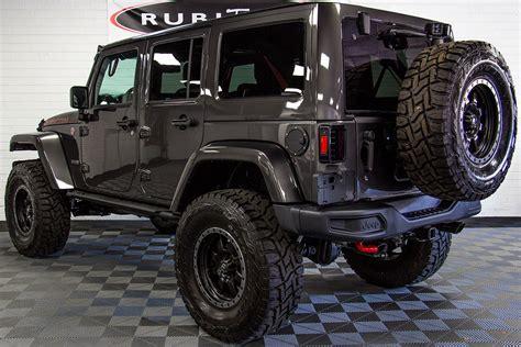 rubicon jeep 2018 2018 jeep wrangler rubicon recon unlimited granite