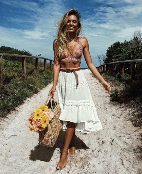 amazing boho chic style inspirations  outfit ideas