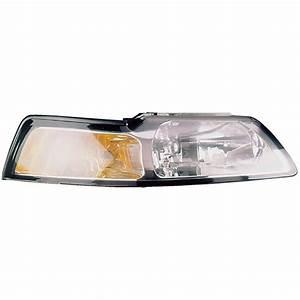 2000 Ford Mustang Headlight Assembly Pair Pair of Headlight Assemblies 16-80481 A9