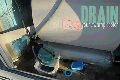 Cooler Swamp Drain Winterize Inside Clean Winterizing