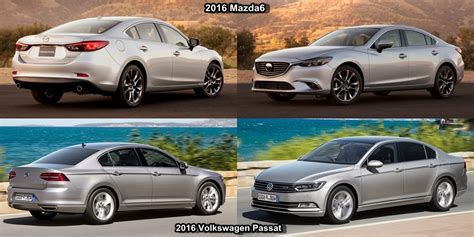 2016 Vw Passat Vs Mazda 6 Autowarrantyfvcom