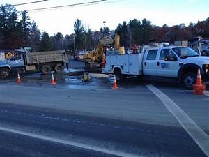 Waterville main break cuts water supply to Quarry Road ...