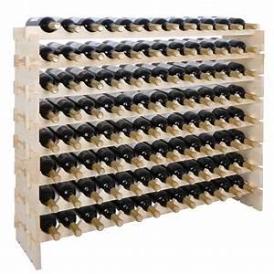 Zeny, Home, Pub, Solid, Wood, Wine, Rack