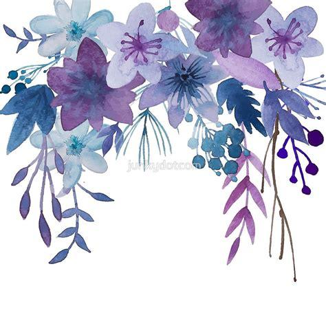 Blue Purple Flowers by junkydotcom | Blumen selber basteln ...