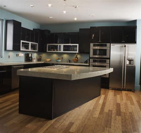 modele de cuisine design exemple de cuisine avec ilot central 2017 et modele de