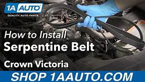 How To Remove Reinstall Serpentine Belt 2003