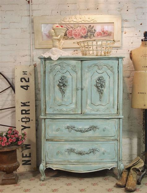 Cottage Chic Furniture Vintage Cottage Furniture Vintage Blue Painted Cottage