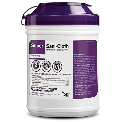 Super Sani-Cloth® Wipes (Spanish) - PDI Healthcare