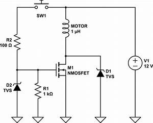 power n mosfet motor driver full protection electrical With mosfet protection circuit
