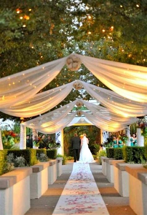 Outside Wedding Ideas With Garden Wedding Ideas On A