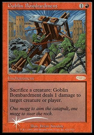 Goblin Charbelcher Vintage Deck by Is Promo Is
