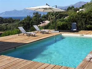 piscines marinal leurs plus belles realisations With lovely photo terrasse bois piscine 3 terrasses en bois