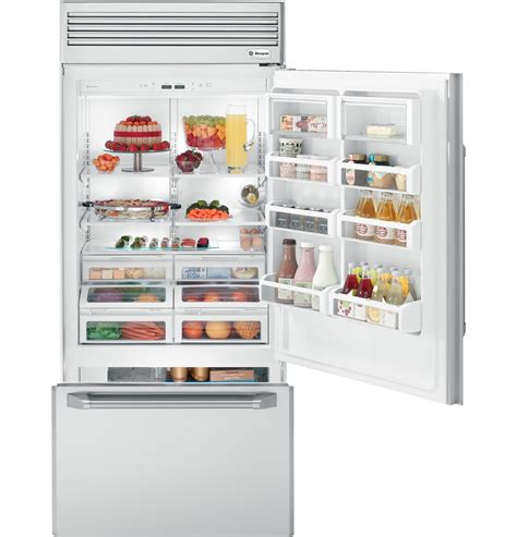 zicpsrss ge monogram  professional built  bottom freezer refrigerator monogram