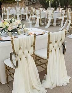Décoration De Mariage Pas Cher : on vous pr sente la housse de chaise mariage en 53 photos ~ Teatrodelosmanantiales.com Idées de Décoration