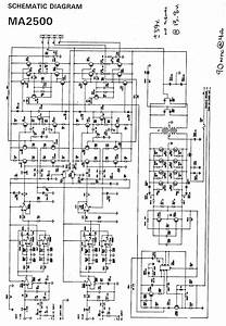 10000 Watts Power Amplifier Schematic Diagram