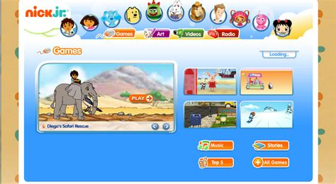 february 2010 s page 4 401 | nickjr games