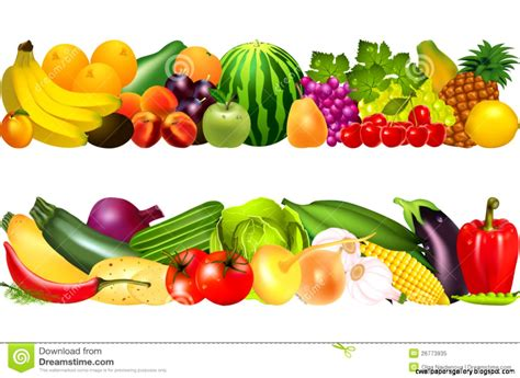 Fruit Clip Fresh Fruit And Vegetables Clipart Clipground