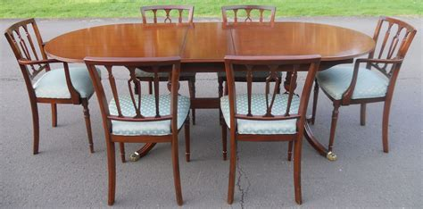 SOLD   Strongbow Mahogany Dining Room Suite