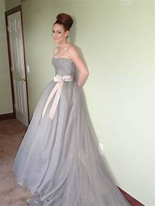 vera wang gray harlow wedding dresses pinterest With grey wedding dress vera wang