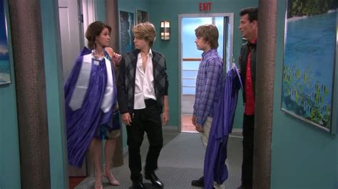 picture of cole sprouse in the suite on deck episode graduation on deck cole