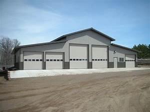 Pole Buildings for Mechanic Shops