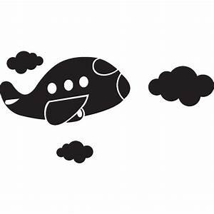stickers pour les bebes sticker design avion ambiance With tapis chambre bébé avec fleur de bach voyage avion