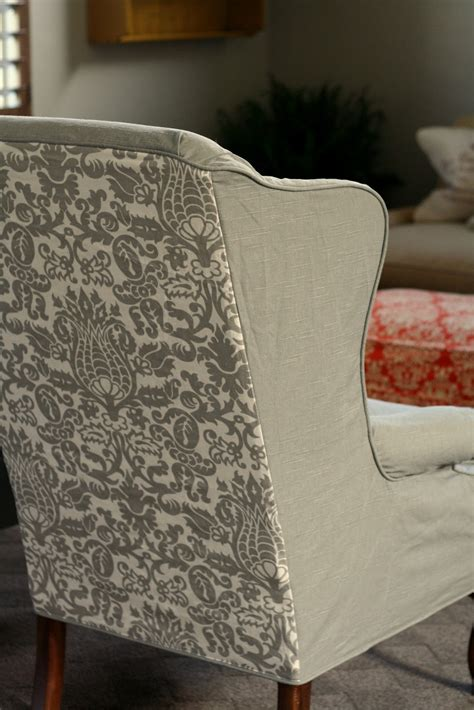 chair slipcover pattern wingback chair slipcover square cushion chair covers