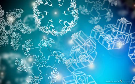 christmas snowflakes wallpapers hd wallpapers id 11982