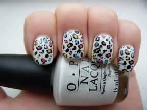 Luscious leopard nail art designs