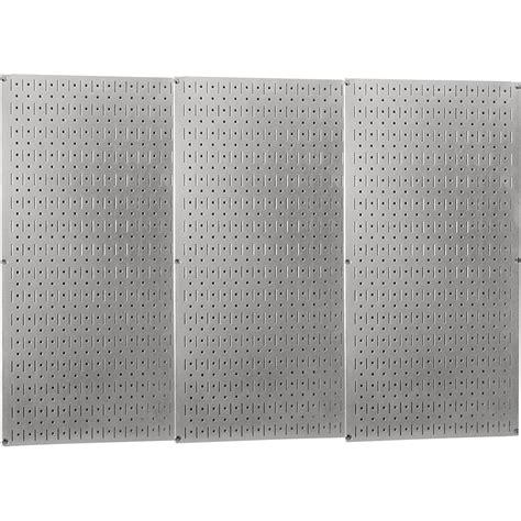 wall control industrial metal pegboard galvanized metal     panels model