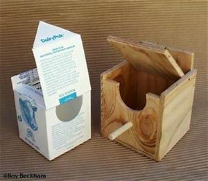finch nesting boxes diy Milk Carton Nest Box with Flip Lid ...