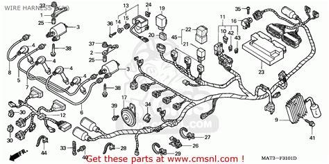 wiring diagram honda blackbird honda cbr1100xx super blackbird 1999 germany kph wire harness y schematic partsfiche