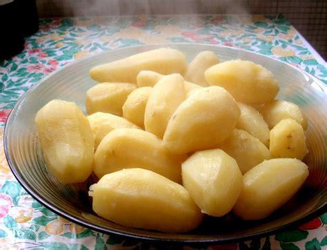 pommes vapeur