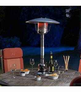 Sirocco Stainless Steel Table Top Patio Heater