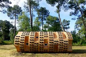 Le Bruit Du Frigo : bruit du frigo build circular nature hut le tronc creux in ~ Nature-et-papiers.com Idées de Décoration